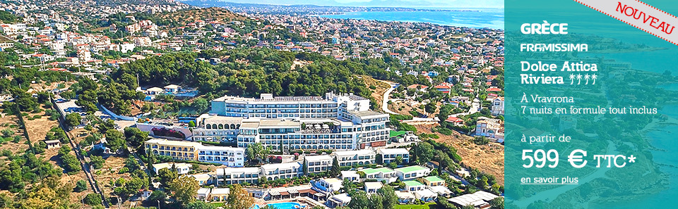 GRÈCE - Vravrona - À partir de 599 € * TTC