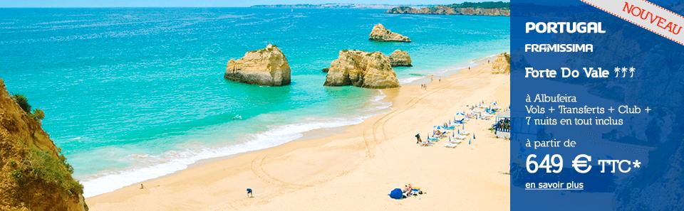 Portugal - Albufeira - À partir de 649 € * TTC