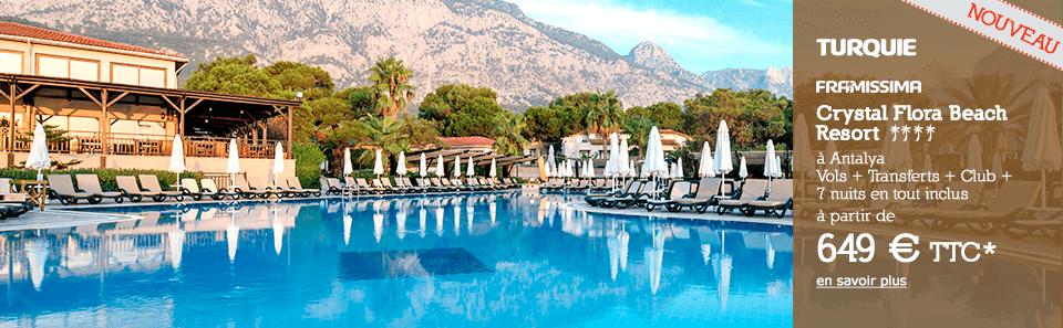 TURQUIE - Antalya - À partir de 649 € * TTC