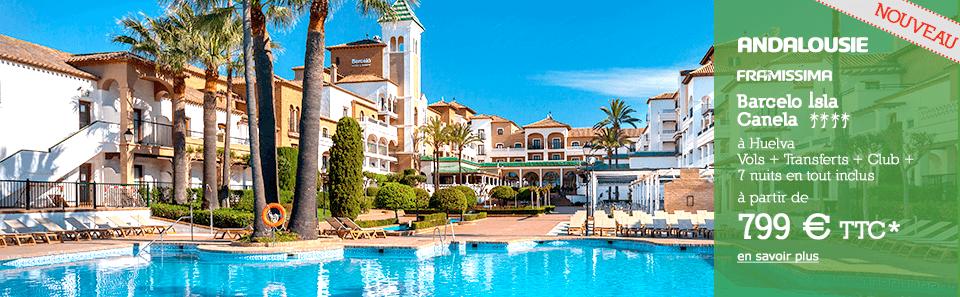 ANALOUSIE - Huelva - À partir de 1159 € * TTC