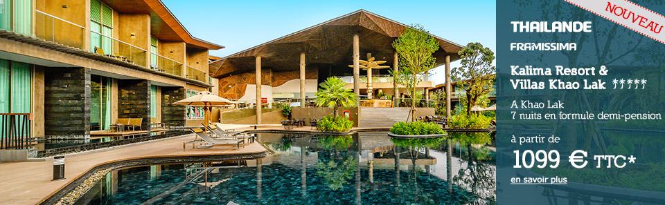 THAILANDE - Khao Lak - À partir de 1099 € * TTC
